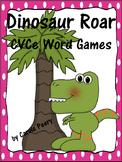 Dinosaur Roar CVCe Word Games