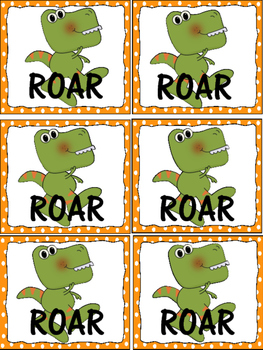 Dinosaur Roar Fry First 100 Word Games