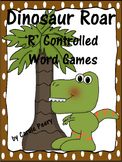 Dinosaur Roar 'R' Controlled Vowels Word Games