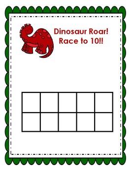 Dinosaur Roar Race to 10 & 20