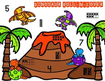Dinosaur Roll-N-Cover