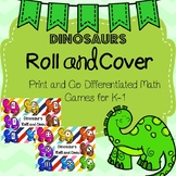 Dinosaur Roll and Cover Games