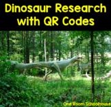 Dinosaur STEM Cross Curricular Unit with QR Codes