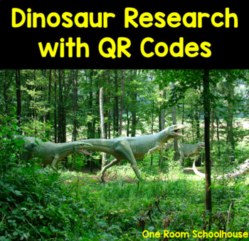 Dinosaur STEM Cross Curricular Unit with QR Codes
