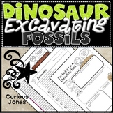 Dinosaur Science - Nonfiction Passage & Activities About Excavating Fossils
