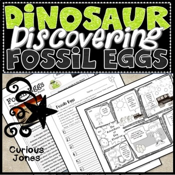 Dinosaur Science Lesson 5 - Roy Chapman Discovers Fossil Eggs