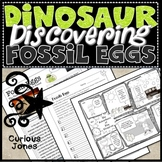 Dinosaur Science Nonfiction Passage & Activities About Fossil Egg Discovery