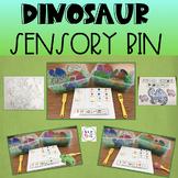 Dinosaur Sensory Bin Activity (Speech & Language Therapy)