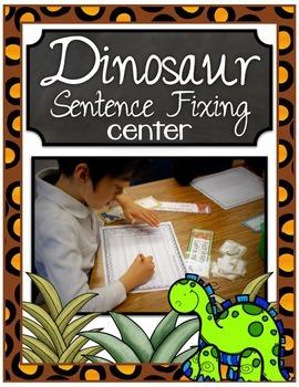 Dinosaur Sentence Fixing Center