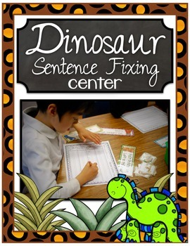 Dinosaur Sentence Fixing Center