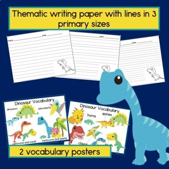 Dinosaur Sentence-Picture Match Reading Center