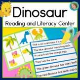Dinosaur Sentence-Picture Match Reading Center