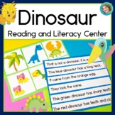 Dinosaur Sentence Picture Match Reading Center