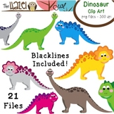 Dinosaur Set: Clip Art Graphics for Teachers