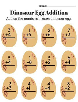 Dinosaur Set- Dinosaur Math, Dinosaur Research, Dinosaur Language Arts