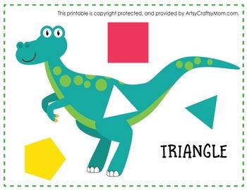 ★ Dinosaur Shape Match