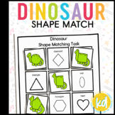 Folder Game: Dinosaur Shape Matching for Students with Autism & Special Needs