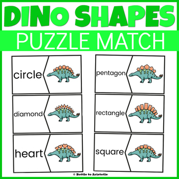 Dinosaur Shapes Puzzle