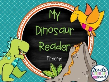 Dinosaur Sight Word Reader FREEBIE