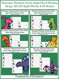 Dinosaur Sight Words & Nouns Tracing & Writing Strip Bundle