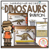 Dinosaur Skeleton Measuring Mats and Cards