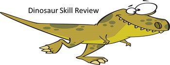 Dinosaur Skill Review Smartboard