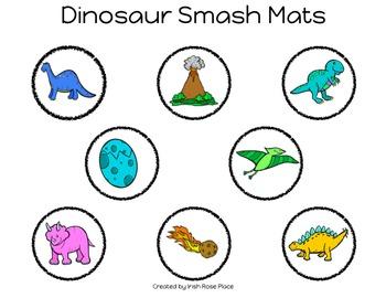 Dinosaur Smash Mats