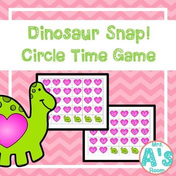 Dinosaur Snap! Circle Time Game