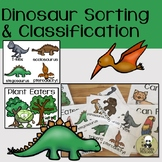 Dinosaur Sorting and Classification Activity