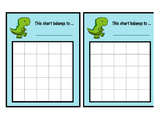 Dinosaur Sticker Chart