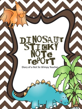 Dinosaur Sticky Note Research Report