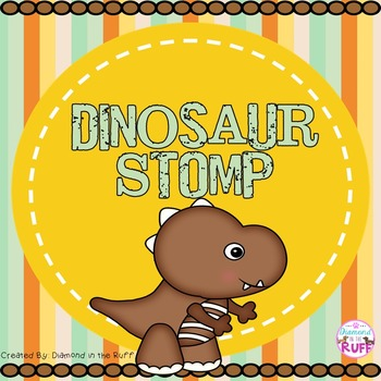 A Letters and Sounds Game: Dinosaur Stomp