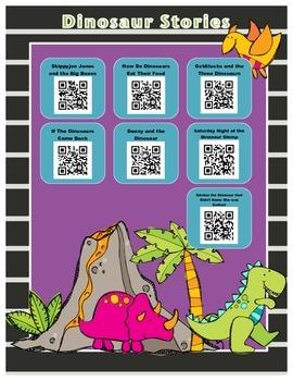 Dinosaur Stories QR