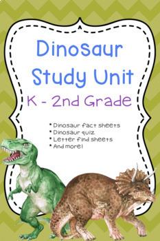 Dinosaur Study Unit