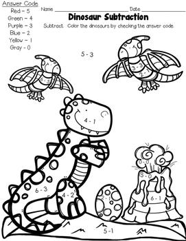 Dinosaur Subtraction!