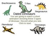 Dinosaur Data POWERPOINT