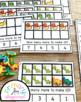 Dinosaur Ten Frame Task Cards Making Ten with Dinosaur Friends Center