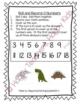 Dinosaur Thematic Unit