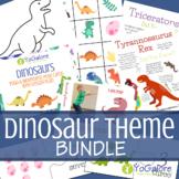 Dinosaur Theme Activity Bundle