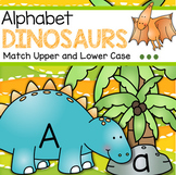 Dinosaurs Alphabet Upper and Lower Case Matching Center