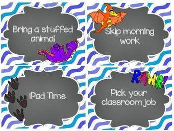 [FREEBIE] Dinosaur Theme Classroom Reward Coupons