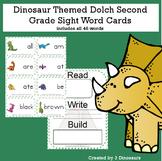 Dinosaur Theme Dolch Second Grade Sight Words