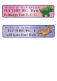 Dinosaur Theme Growth Mindset Cues