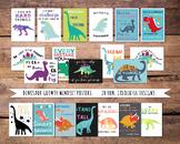 Dinosaur Theme Growth Mindset Motivational Posters