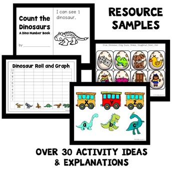 Dinosaur Theme Home Preschool Lesson Plans