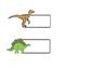 Dinosaur Theme Labels