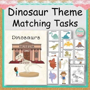 Dinosaur Theme Matching Tasks