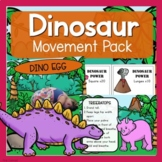 Dinosaur Theme Movement Pack