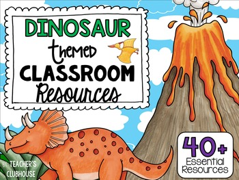 Dinosaur Theme Decor Pack