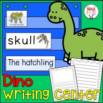 Dinosaur Pictionary Cards - Vocabulary, Writing Center, Write the Room